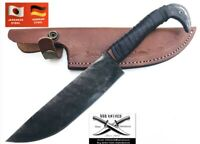 Handmade custom Railroad Forged  KNIFE With Crafted 11 Approx