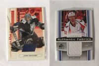 2013-14 SP Game Used AF-GR Mike Green  white authentic fabrics jersey capitals