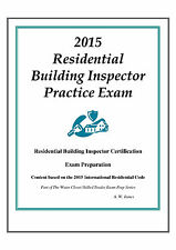 2015 ICC Residential Bldg Inspector Practice Exam on USB Flash Drive