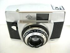 **1960`s AGFA SILETTE RAPID 1 35mm FILM VIEWFINDER CAMERA COLOR-AGNAR 45mm/2.8**