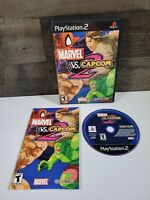 Marvel vs. Capcom 2 - Playstation 2 Complete w/ Manual PS2