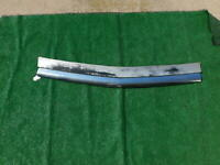 1951 Chevrolet chrome grille bar and painted deflector backing plate 51 Chevy