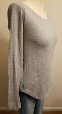 New Polo Ralph Lauren Women Long Sleeve Crew Pony T-Shirt Size Medium THESPOT917