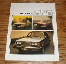 Original 1976 Volvo Full Line Sales Brochure 76 264 GL 242 244 245 265