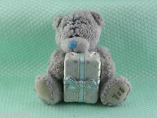 Me To You peluche ourson 7 cm * PETIT CADEAU * paquet blanc argent ruban bleu b