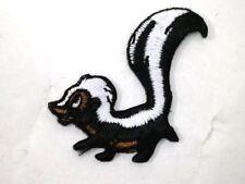 Cute Skunk Polecat Little Stinker Iron On Applique Patch