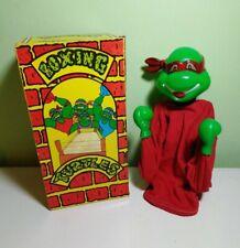 Vintage Rare 1980s TMNT Boxing Ninja Turtles Puppet Figure