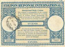 Canada - 15 cents - Coupon-reponse international - RARE