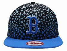 Boston Red Sox Cap New Era Fade Hook Blue 9FIFTY Snapback Cap Brand New Size S/M