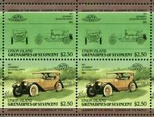 1917 LOCOMOBILE 48 Custom Sportif Car 50-Stamp Sheet Auto 100 Leaders of World