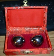 Vintage Shouxing Balls Musical Chime Stress Relief w/Case