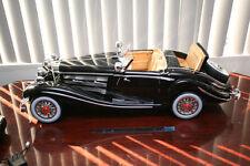 1/6 large scale Rc Wwii German Leader Car Mercedes Benz Von Krieger 540K, Black