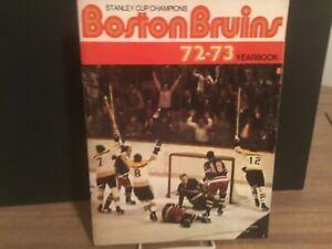 1972 Boston Bruins Yearbook