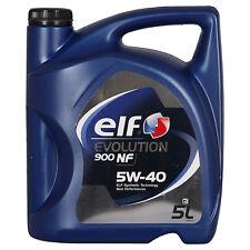 Elf Evolution 900 NF 5W-40  5 Litros Bidón