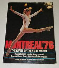 Montreal '76 Games XXI Olympiad Olympics Pictorial Highlights Bruce Jenner Book
