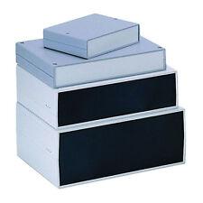 Abs instrumento Funda 300x200x75mm Aluminio final Panel + ventilación recinto caja de plástico