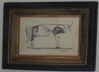 * * * Wunderschöner Handdruck von Pablo Picasso * * * -im Druck signiert!-* * *