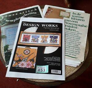 Cross Stitch Charts /Sampler, Design Works and Kitchen Designs,