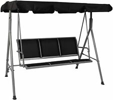 Luckyermore Canopy Porch Swing Chair Hammock Lounge Seat Bench Patio Garden