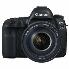 Canon Digital Camera EOS 5D Mark IV Lens Kit EF24-105mm F4L IS II USM w/Tracking