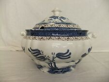 C4 Pottery Booths Real Old Willow - Tureen & Lid XL - 31x26x23cm, CHIPPED - 8D6B