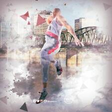 "001 CJ McCollum - Portland Trail Blazers Basketball NBA Star 24""x24"" Poster"