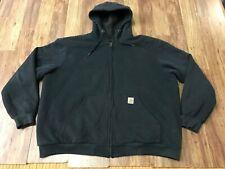 MENS 2XL - Carhartt Sherpa Lined Body Zip Hooded Sweatshirt