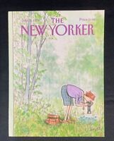 COVER ONLY ~ The New Yorker Magazine, July 16, 1984 ~ Charles Saxon