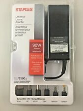 90W universal laptop adapter Acer, HP, ASUS, Dell, Lenovo, and Toshiba Stables