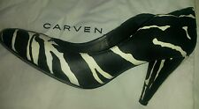 Ladies Court Shoe Pumps From Carven Paris, Size 37 EU, 4 UK.
