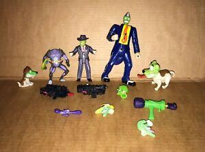 Vintage 1990's Toy Island - The Mask Animated Series - Figure Bundle