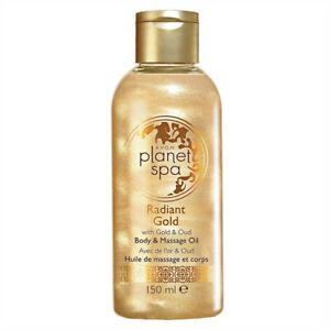 Planet Spa Radiant Gold Body & Massage Oil - NEW