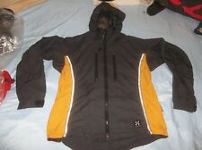Haglofs Run Jog Hike Bike Gore-tex Windstopper Soft Shell Jacket Coat Parka