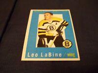 1959-60 Topps #7 Leo LaBine Bruins - nrmt