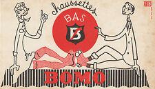 Buvard Vintage  Chaussettes  Bas Bomo