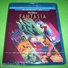 FANTASIA 2000 CLASICO DISNEY NUMERO 38 COMBO BLU-RAY + DVD NUEVO Y PRECINTADO