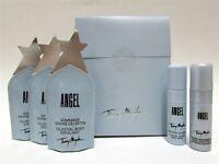 Thierry Mugler Mini Set: Celestial Body Exfoliant x 3, Body Spray, Oil - New