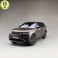 1/18 LCD Land Rover Velar SUV Diecast SUV CAR MODEL TOYS Boys Girls Gifts Brown