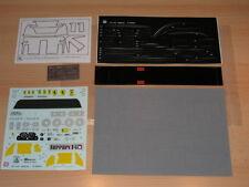 1/8 Pocher Rivarossi Ferrari F40 K56 Decal Sheets New L@@K !!