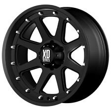 "XD Series XD798 Addict 18x9 6x5.5"" -12mm Matte Black Wheel Rim 18"" Inch"
