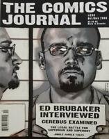 The Comics Journal Magazine Oct Nov 2004 - Ed Brubaker Interview - No Label - NM