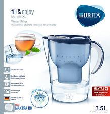 Brita Wasserfilter Filter Marella XL blau 3,5 Liter inkl. 1 Kartusche Maxtra +