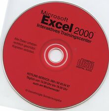 Excell 2000  Interaktives Trainingscenter - Software Lern DVD