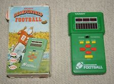 Vintage 1981 Tandy Championship Electronic Football Handheld Game Tested & Works
