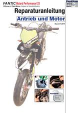 Reparaturanleitung RIS Fantic Motard Performance 125, Antieb und Motor
