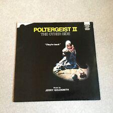 Poltergeist 2 - Jerry Goldsmith Film Soundtrack LP NEAR MINT UK TER 1116