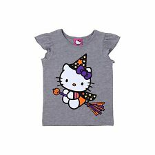 New !  Toddler Girls' Hello Kitty T-Shirt - Grey Size:  2T ; 12M ; 18M