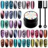 5D Cat Eye Nail Art Gel Polish Soak-off UV/LED Manicure Varnish 5ml RBAN NAIL