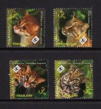 103832/ Thailand 2011 - Mi 3117/20 - Katzen / WWF - **
