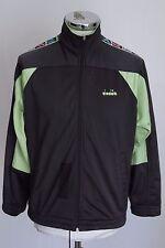 DIADORA 50 vintage giacca zip jacket track top gabber felpa tuta E4230